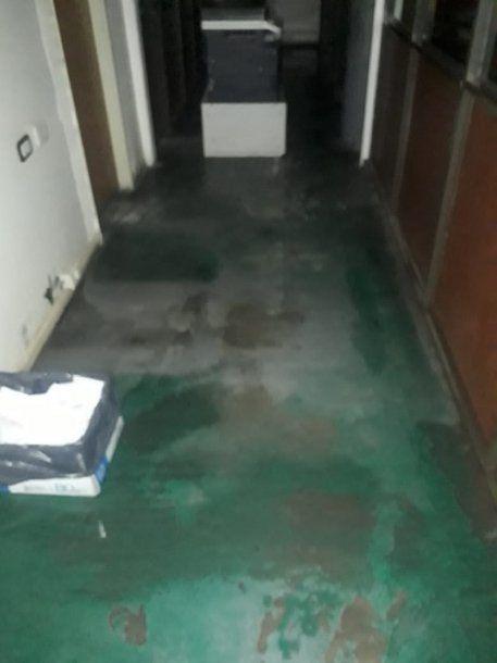 Cayó parte del techo en la Fiscalía y Defensoría de Florencio Varela<br><br>