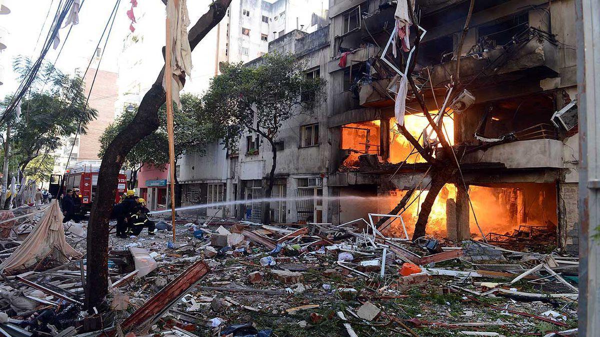 La explosión del edificio en Rosario dejó 22 muertos