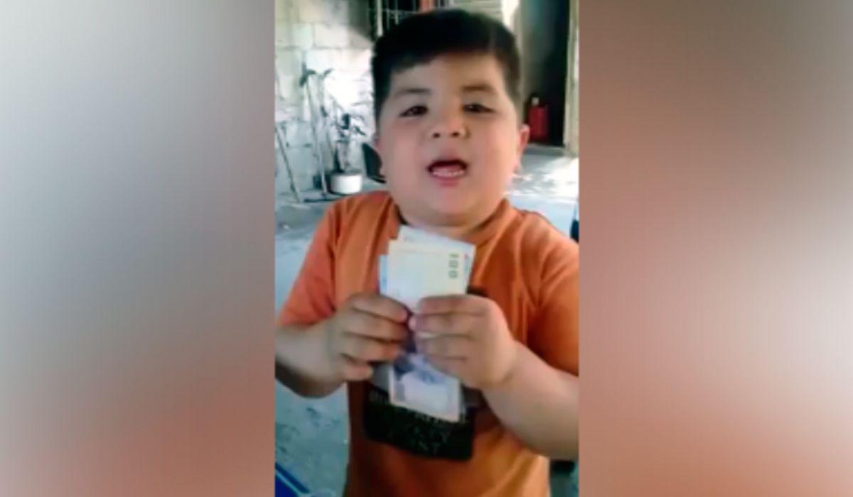 El gesto de Armani con un nene tucumano que no quería la camiseta de River