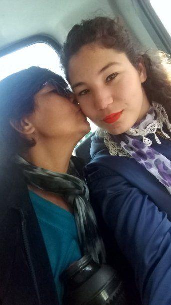 <p>Priscila Ramírez y su mamá Miguela Acosta</p>