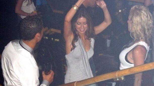 <p>Cristiano Ronaldo y Kathryn Mayorga en Las Vegas.</p>