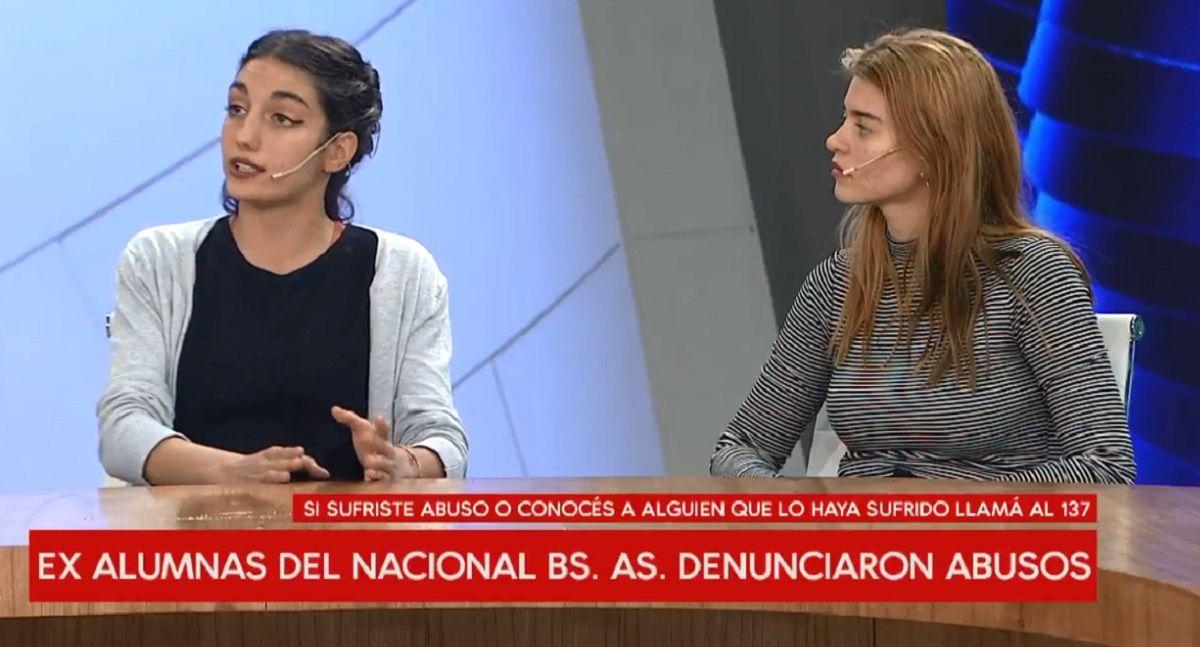 Las estudiantes que denunciaron abusos de docentes del Buenos Aires: Hay un blindaje para esta gente