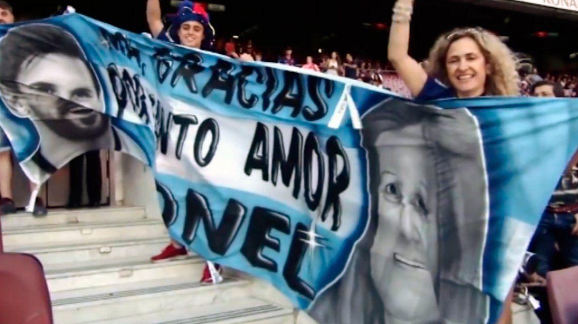 Fue a ver a Messi y en la tribuna se enteró que no jugaba