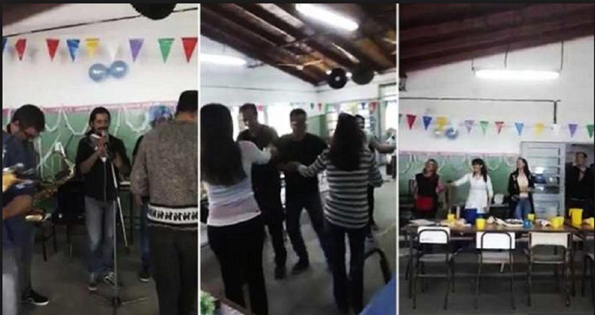 Moreno: docentes hicieron una fiesta en una de las escuelas cerradas tras la explosión