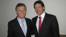 Mauricio Macri y Fernando Haddad. Foto: Gobierno de la Ciudad de Buenos Aires.
