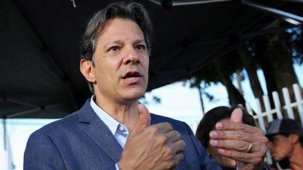 Fernando Haddad, candidato presidencial por el PT