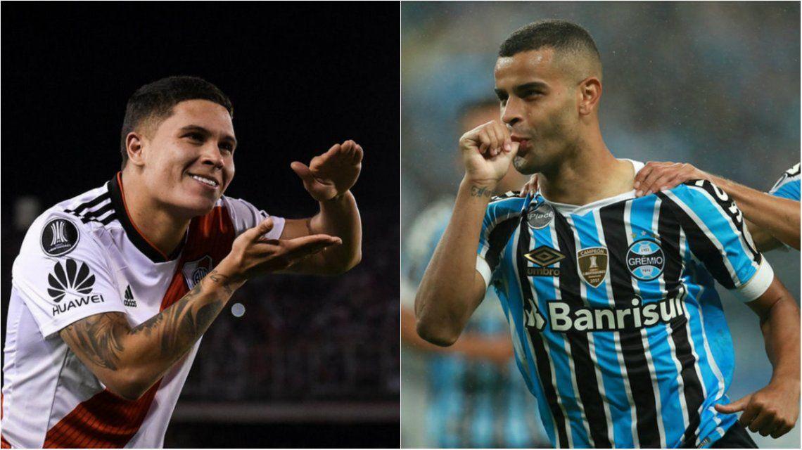 River tendrá una dura prueba ante Gremio por Copa Libertadores