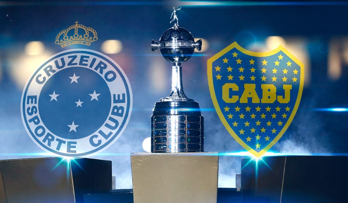 Cruzeiro vs Boca por los cuartos de final de la Copa Libertadores: horario, formaciones y TV