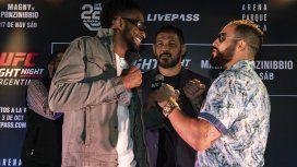 El día esperado: UFC llega a Argentina en un evento que tendrá de todo