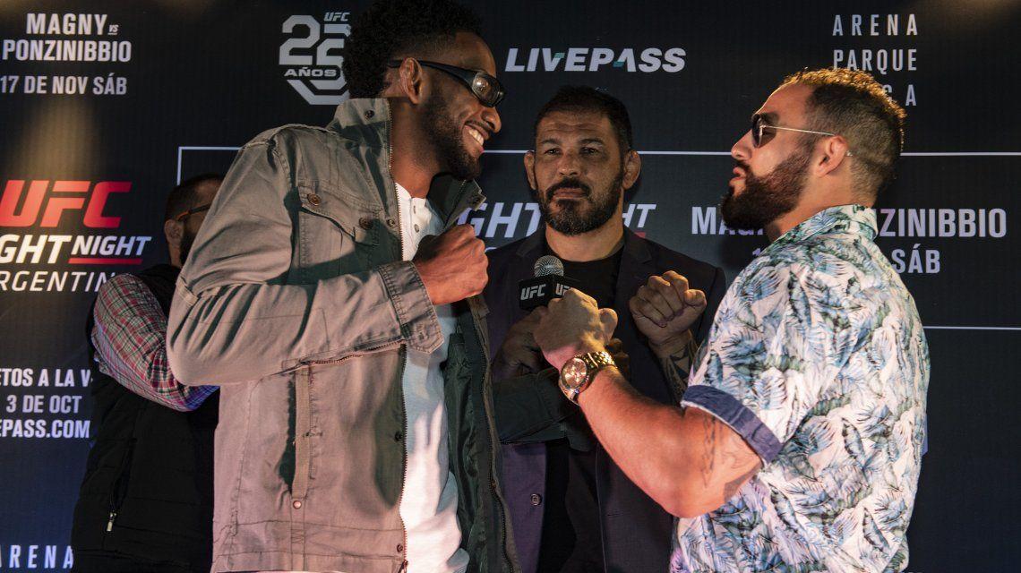 Histórico: la UFC desembarca en Argentina con un evento estelar