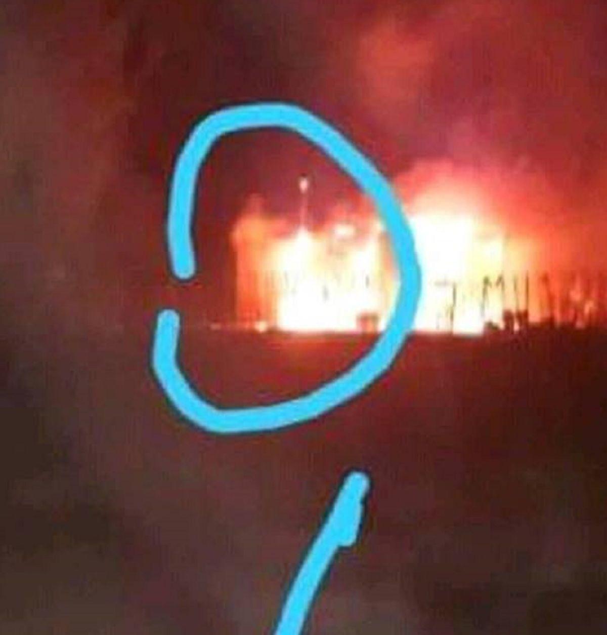 San Juan: aseguran que apareció la imagen de Jesús en el incendio de Ullum