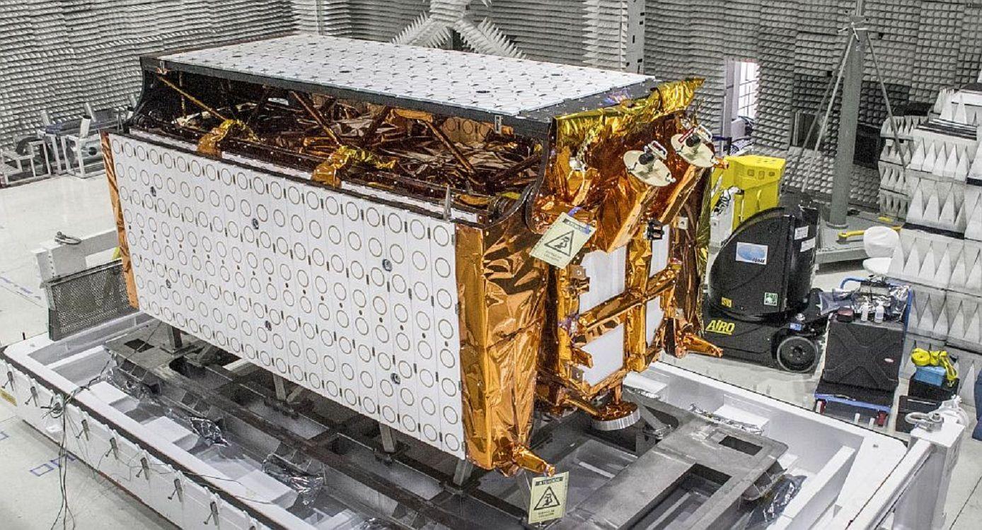 El satélite desarrollado por la Conae y el Invap