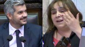 La insólita bienvenida a Peña en Diputados: Como todos sabemos que Macri es gato