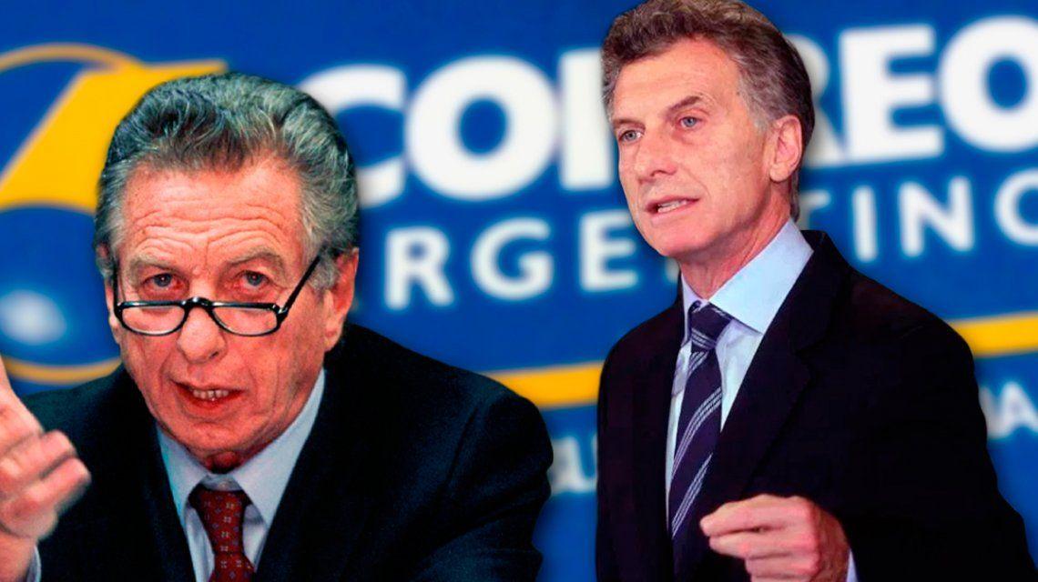 Macri se excusó de intervenir en actos administrativos del Correo Argentino