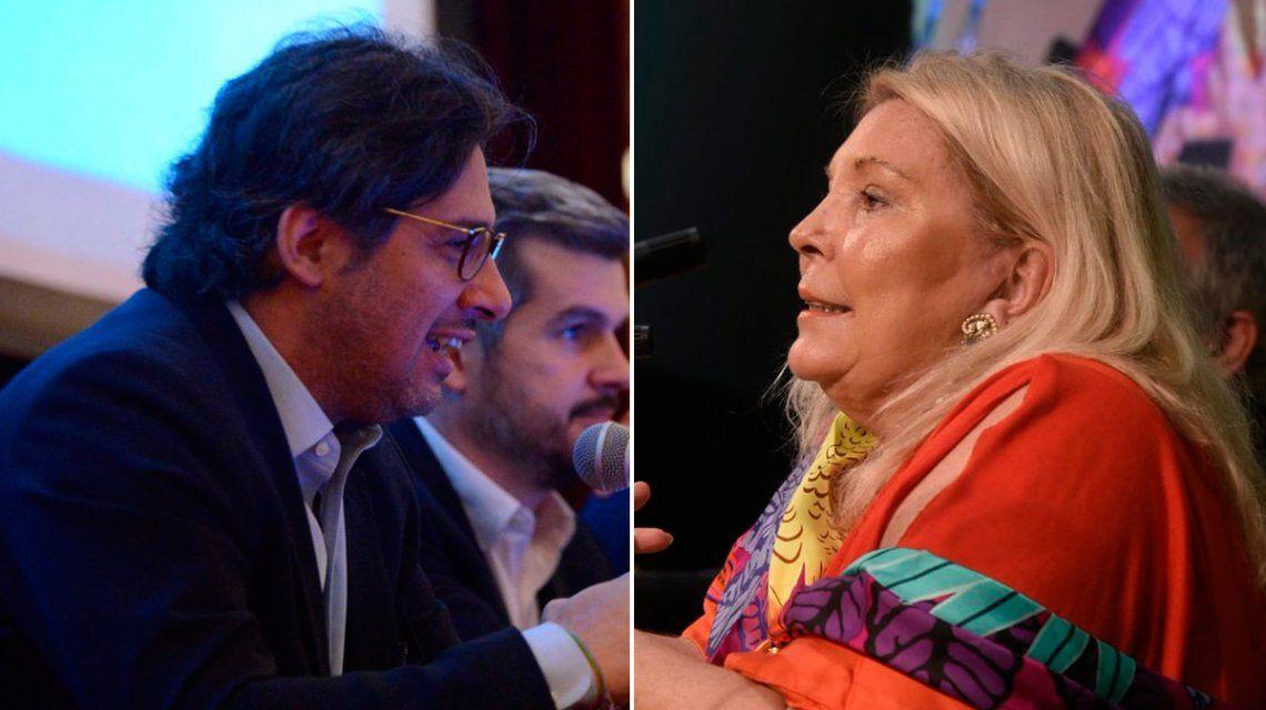 Garavano dijo que no es bueno que un ex presidente esté preso y Carrió amenazó con pedir su juicio político