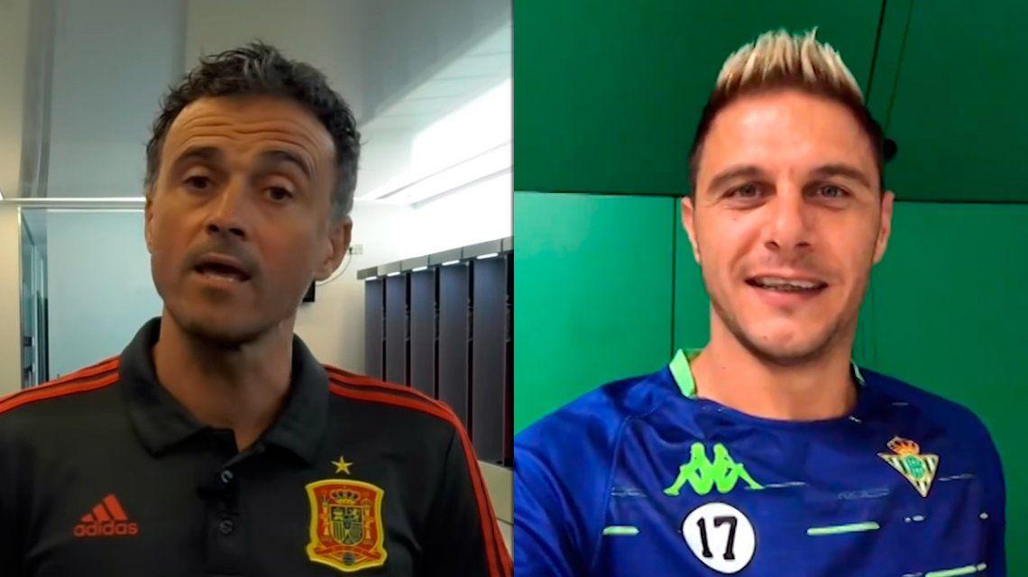 Luis Enrique presentó a los convocados de España y un jugador le respondió con un video insólito