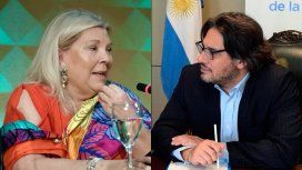 Carrió ratificó el pedido de juicio político a Garavano y hará una demanda por machismo aberrante