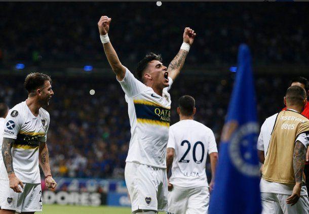 Gol de Pavón para Cruzeiro en la Libertadores - Crédito: @BocaJrsOficial