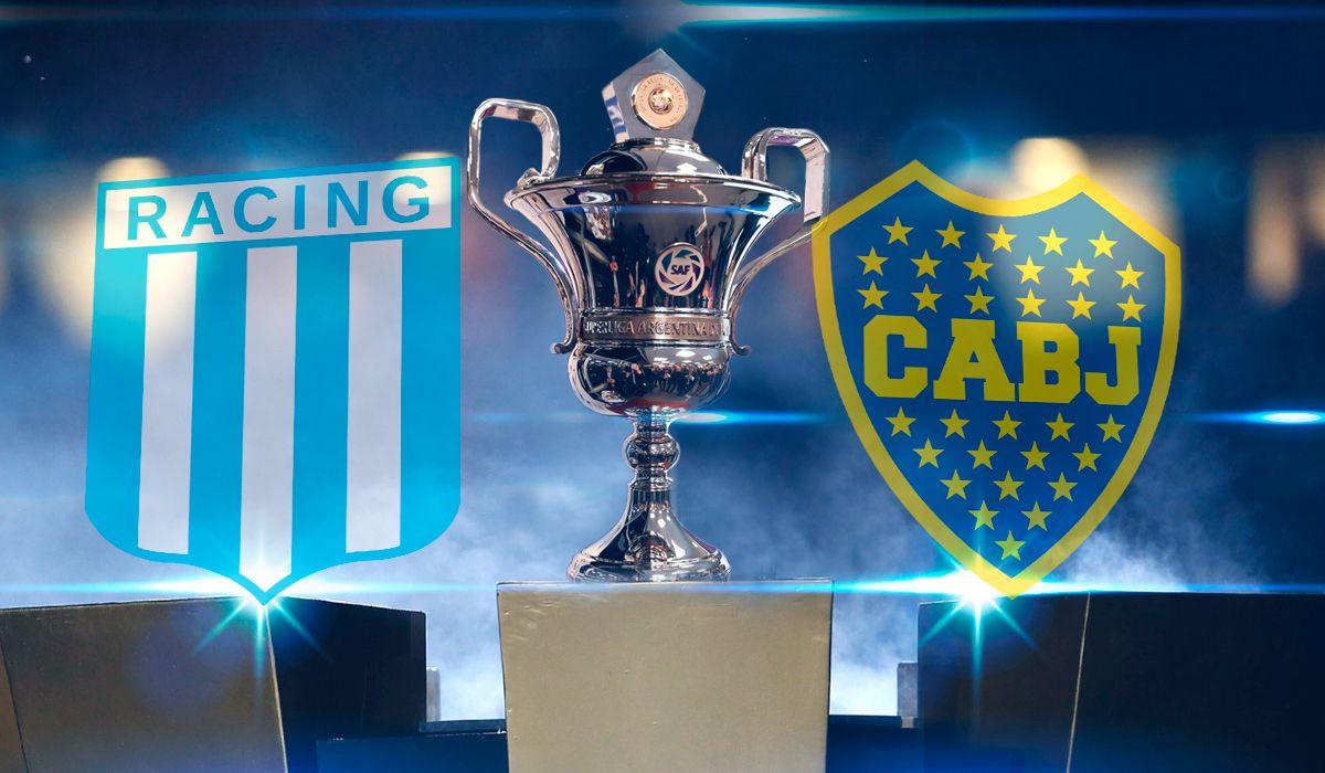 Superliga: el líder Racing le gana a Boca