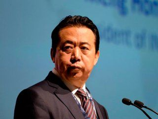 desaparecio el presidente de interpol  meng hongwei