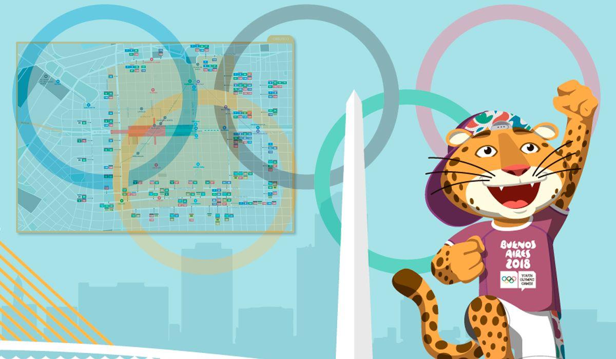 Sábado de Juegos Olímpicos y cortes en la Ciudad: cómo llegar a la ceremonia inaugural