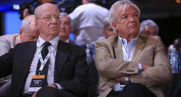 Paolo Rocca y Luis Betnaza<br>