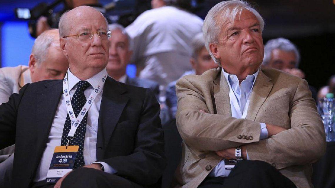 Paolo Rocca y Luis Betnaza