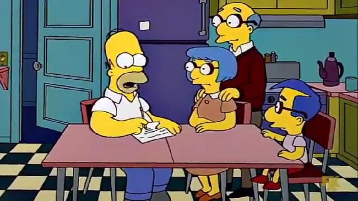 Los Simpson y otro guiño a la realidad tras el nuevo aumento del gas