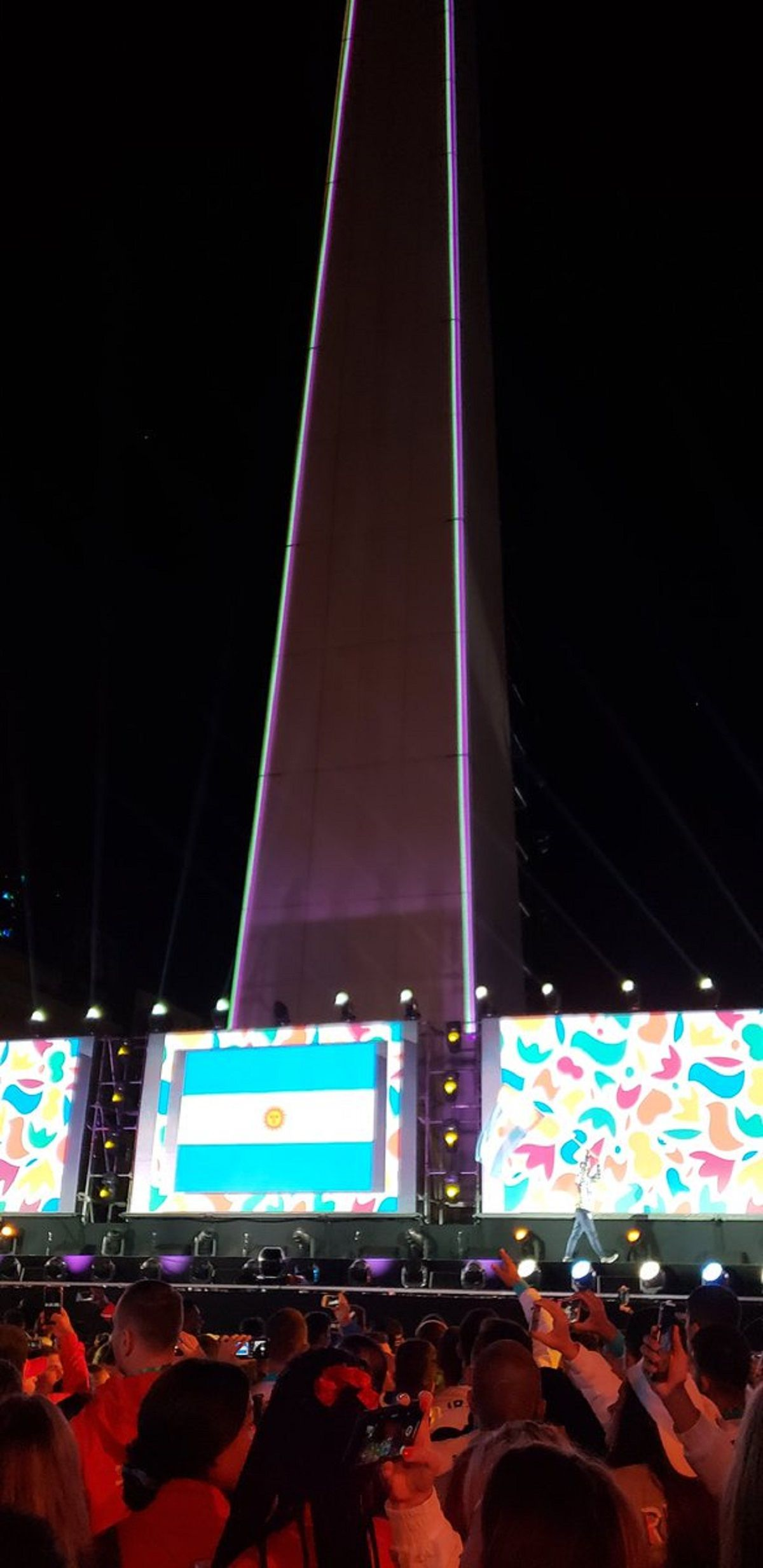 Inauguración de los Juegos Olímpicos de la Juventud - Crédito:@BuenosAires2018