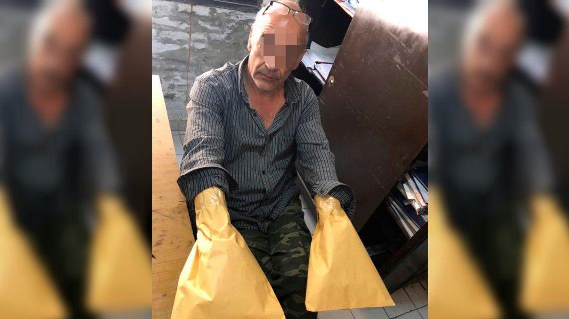 Brutal crimen en La Plata: drogó al novio de su ex pareja, lo ahorcó y le colocó una bolsa en la cabeza