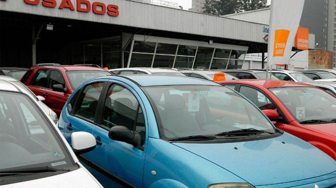 Septiembre tuvo un 11,8% menos de ventas de autos usados en el país