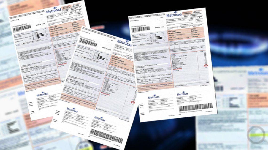 Se oficializó la bonificación en las facturas de gas de abril y mayo