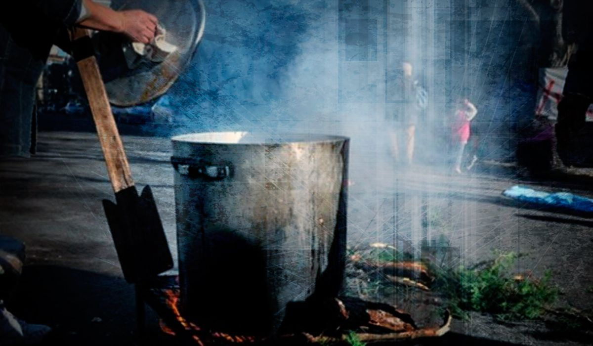 Un 55% redujo sus porciones de comida por la inflación
