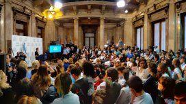 Los 38 senadores fueron homenajeados por su voto en contra del aborto legal