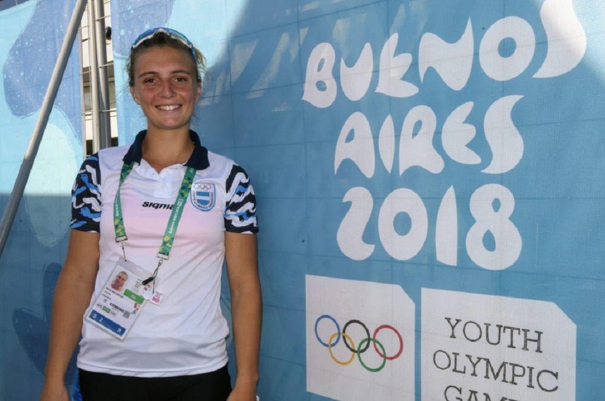 Sol Ordas, la primera medalla de oro para Argentina en los Juegos Olímpicos de la Juventud