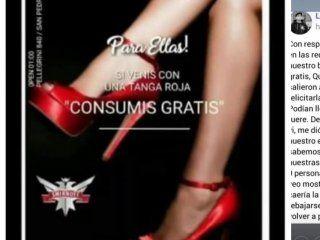 la insolita disculpa de un boliche que ofrecia tomar gratis a las mujeres con tanga roja