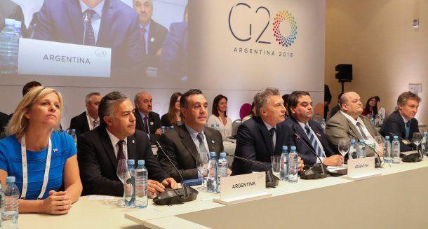 Macri en el G20 - Crédito: @mauriciomacri