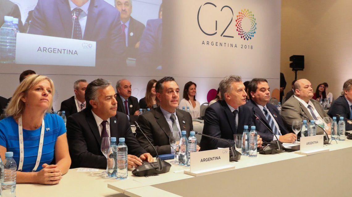 Macri en el G20 - Crédito:@mauriciomacri