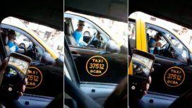 Un taxista insultó a una colega porque creyó que le había sacado un pasajero