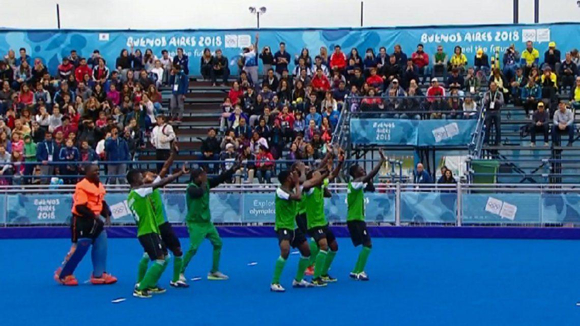 El baile de los jugadores de Zambia que enloqueció a todos en los Juegos Olímpicos