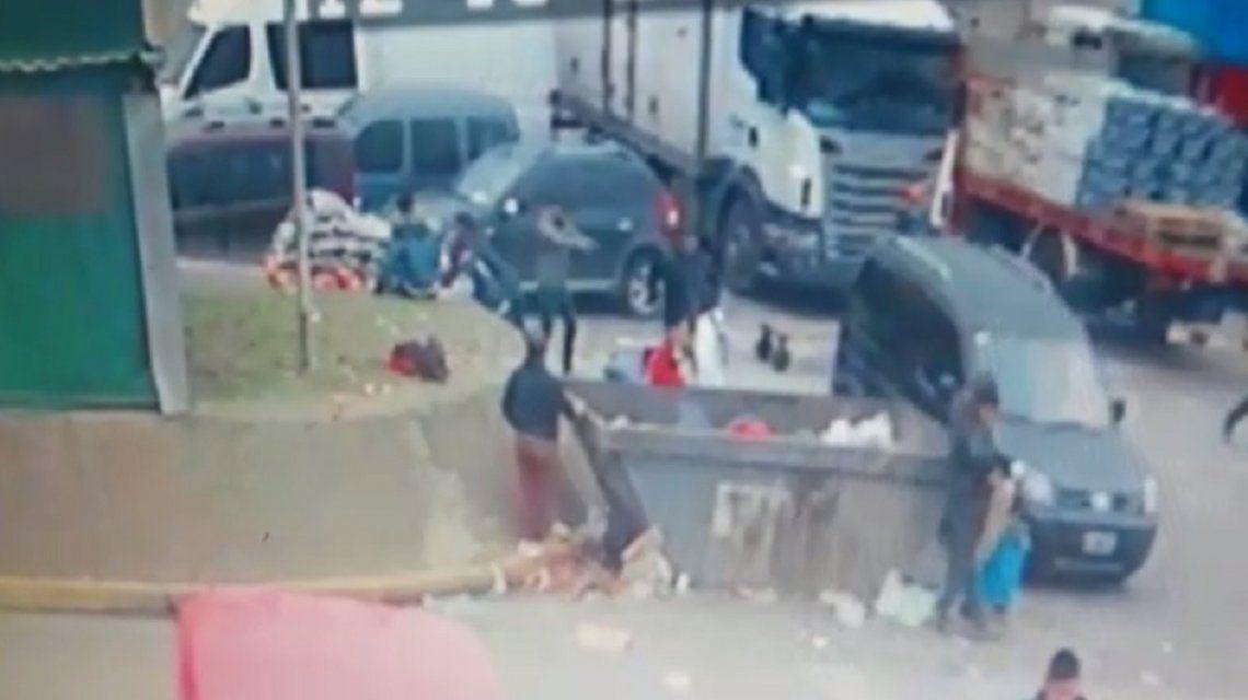 Mataron a un policía de la Ciudad que fue a robar al Mercado Central