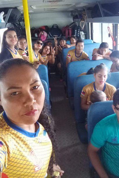 Equipo de fútbol femenino Manicoré