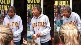 Le robaron en el kiosko y los papás de los clientes hicieron una vaquita
