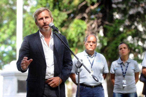 <p>Ministro de Interior, Rogelio Frigerio</p>