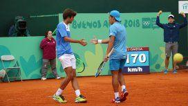 Argentina ganó la medalla de oro en dobles de tenis masculino