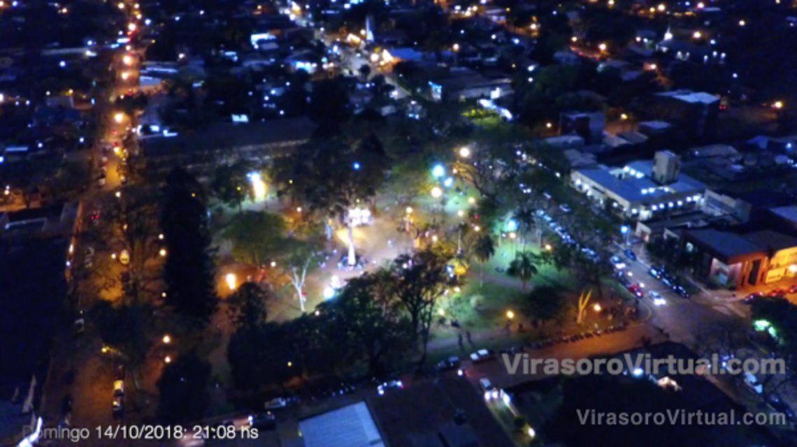 ¿Meteoritos en Corrientes? Extraño fenómeno iluminó el cielo de Gobernador Virasoro