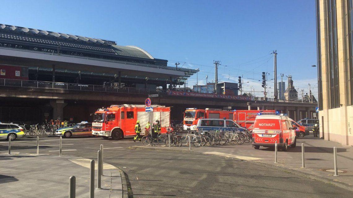 Alemania: terminó la toma de rehenes en la estación de trenes de Colonia
