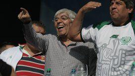 Hugo Moyano aseguró que si detienen a Pablo la gente va a reaccionar