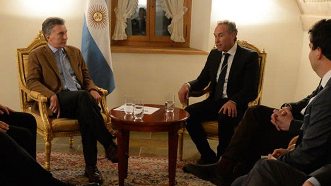 Mauricio Macri y Marcelo Mindlin