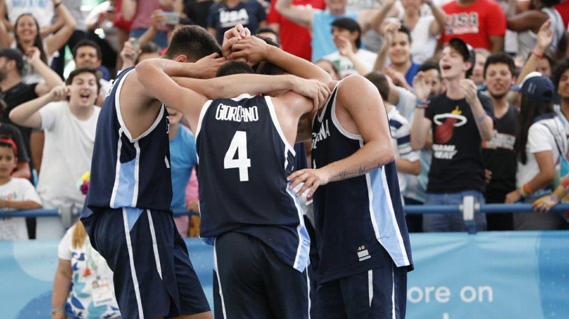 Los chicos del básquet 3x3 se coronaron campeones y le dieron a la Argentina otra medalla de oro